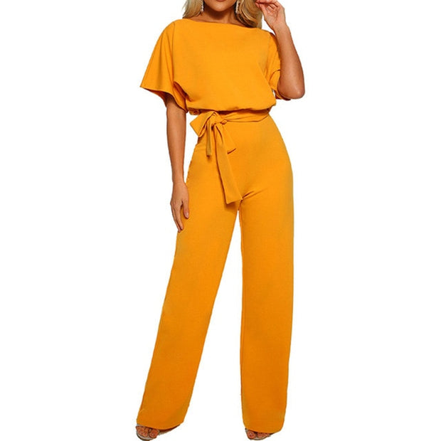 Sexy Lace up Jumpsuit