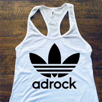 Beastie Boys Shirt-Adrock-Women's Racerback Tank Top-Sizes XS S M L XL 2XL-White Tank Top