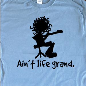 Widespread Panic Shirt-Ain't Life Grand-Adult Uni T Shirt Sizes S M L XL XXL