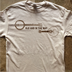 Dead Shirt-Old and in the Way Bluegrass-Adult Uni T Shirt Sizes S M L XL XXL