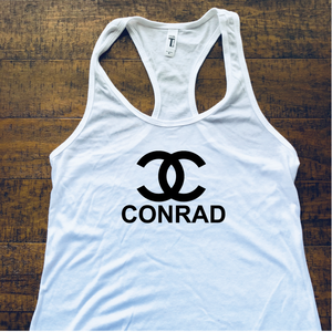 Widespread Panic Shirt-Conrad-Women's Racerback Tank Top-Sizes XS S M L XL XXL