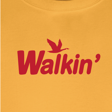 Widespread Panic Shirt-Walkin Wawa in Gold-Adult Uni T Shirt Sizes S M L XL XXL