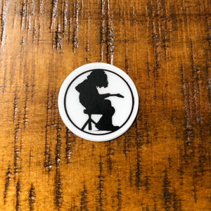 "Widespread Panic Sticker-Mikey-1""-High Quality Indoor/Outdoor Weatherproof Sticker"