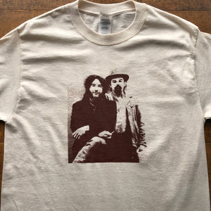 Dead Shirt-Jerry Garica and Pigpen Lot Shirt-Adult Uni T Shirt Sizes S M L XL XXL-Natrual T Shirt