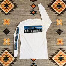 Load image into Gallery viewer, Ween Shirt-Pollo Asado-Adult Uni Long Sleeved T Shirt Sizes S M L XL 2X 3X-White