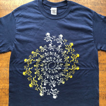 Load image into Gallery viewer, Widespread Panic Shirt-Dancing Note Eater Spiral-Adult Uni T Shirt Sizes S M L XL XXL