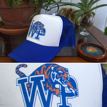 Load image into Gallery viewer, Widespread Panic Hat-University of Memphis Tigers WSP-Snapback Trucker Style Hat
