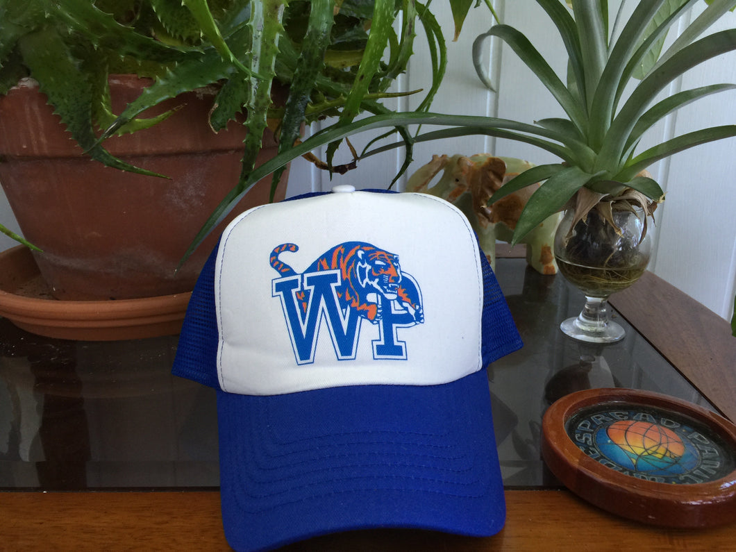 Widespread Panic Hat-University of Memphis Tigers WSP-Snapback Trucker Style Hat
