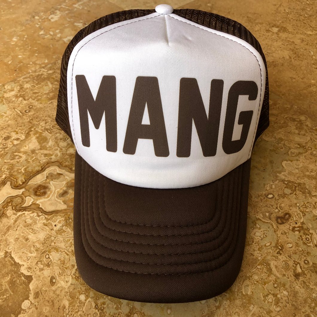 Ween Hat-Mang-Trucker Style Snapback Hat