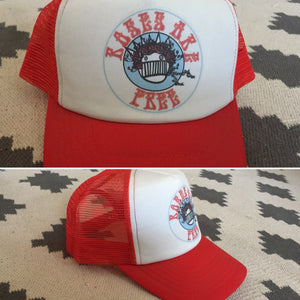 Ween Hat-Roses are Free-Trucker Style Snapback Hat
