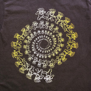 Ween Shirt-Dancing Boognish Bear Spiral-Adult Uni T Shirt Sizes S M L XL XXL