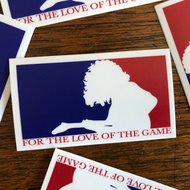 Widespread Panic Sticker-For the Love of the Game-2.5x4