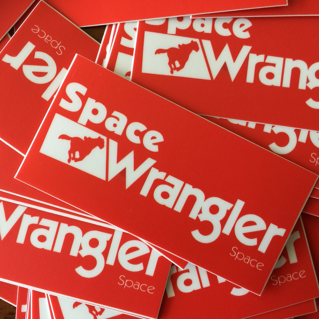 Widespread Panic Sticker-Space Wrangler-2x4