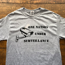 Load image into Gallery viewer, One Nation Under Surveillance Shirt-Adult Uni T Shirt Sizes S M L XL XXL