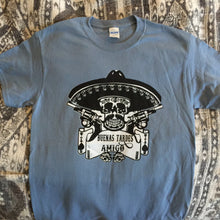 Load image into Gallery viewer, Ween Shirt-Buenas Tardes Amigo Skull & Gun-Adult Uni T Shirt Sizes S M L XL XXL