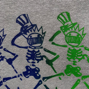 Ween Shirt-Dancing Boognish Skeleton-Adult Uni T Shirt Sizes S M L XL XXL