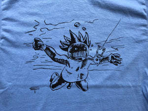 Ween Shirt-Nevermind Boognish by Eli Trujillo-Adult Uni T Shirt Sizes S M L XL XXL