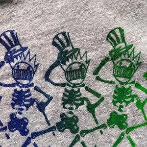 Ween Shirt-Dancing Boognish Skeleton-Women's Racerback Tank Top-Sizes S M L XL 2XL
