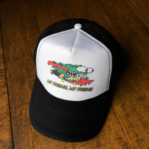 Phish Hat-My Friend My Friend-Snapback Trucker Style Hat