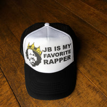 Load image into Gallery viewer, Widespread Panic Hat-JB is my Favorite Rapper-Trucker Style Snapback Hat