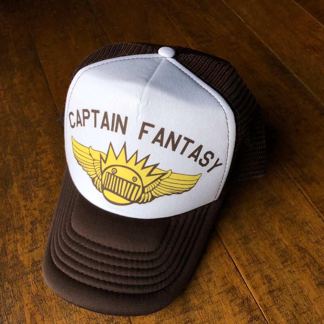 Ween Hat-Captain Fantasy-Trucker Style Adjustable Snapback Hat
