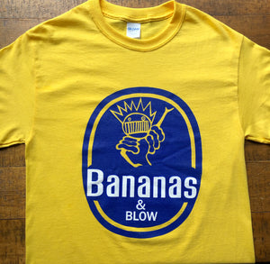 Ween Shirt-Bananas and Blow Boognish-Adult Uni T Shirt Sizes S M L XL XXL