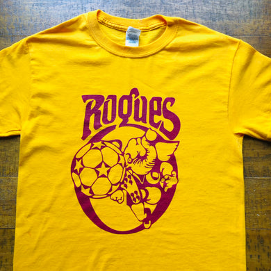 Memphis Shirt-Rogues Soccer Vintage Retro-Adult Uni T Shirt Sizes S M L XL XXL