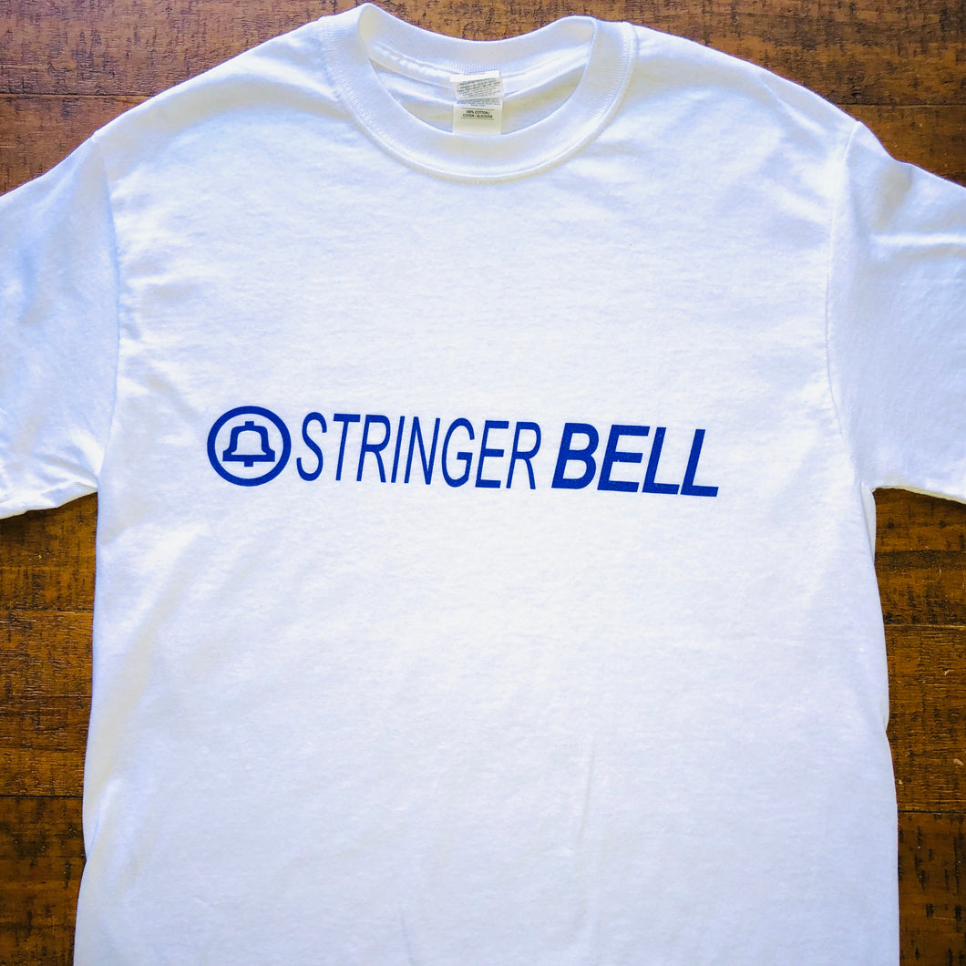 The Wire Shirt-Stringer Bell Baltimore-Adult Uni T Shirt Sizes S M L XL XXL