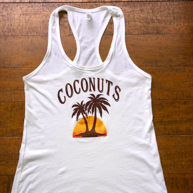 Widespread Panic Shirt-Coconut-Women's Racerback Tank Top-Sizes XS S M L XL 2XL