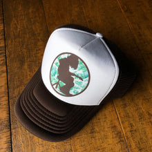 Load image into Gallery viewer, Widespread Panic Hat-Mikey Palm Leaf-Trucker Style Snapback Hat