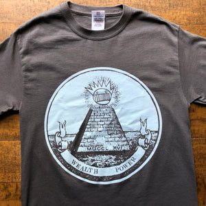 Ween Shirt-Up On Th' Hill All Seeing Boognish-Adult Uni T Shirt Sizes S M L XL XXL-Glow in the Dark
