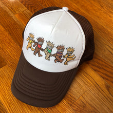 Load image into Gallery viewer, Ween Hat-Dancing Boognish Bears-Trucker Style Snapback Hat