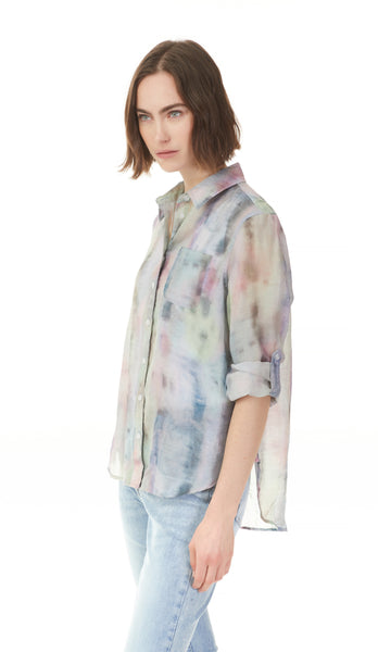 Tie-Dye Button Up