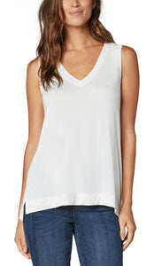 Sleeveless V-Neck Tee