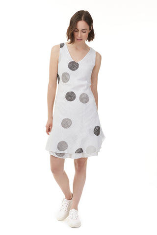 Gauze Polka Dot Dress