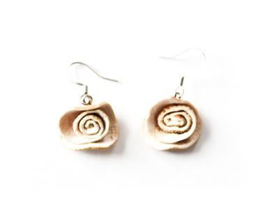 Rose Orange Peel Earring - Available in 7 Colors
