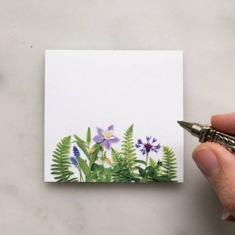Botanical Sticky Notes - 2 Varieties!