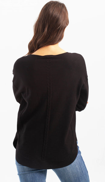 Plush Pocket Sweater