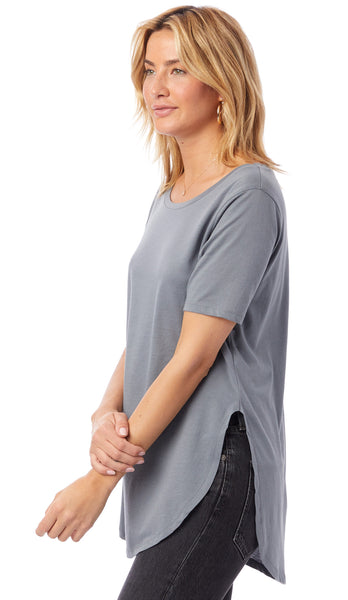 Organic Cotton 1/2 Sleeve Tunic - 3 Colors!