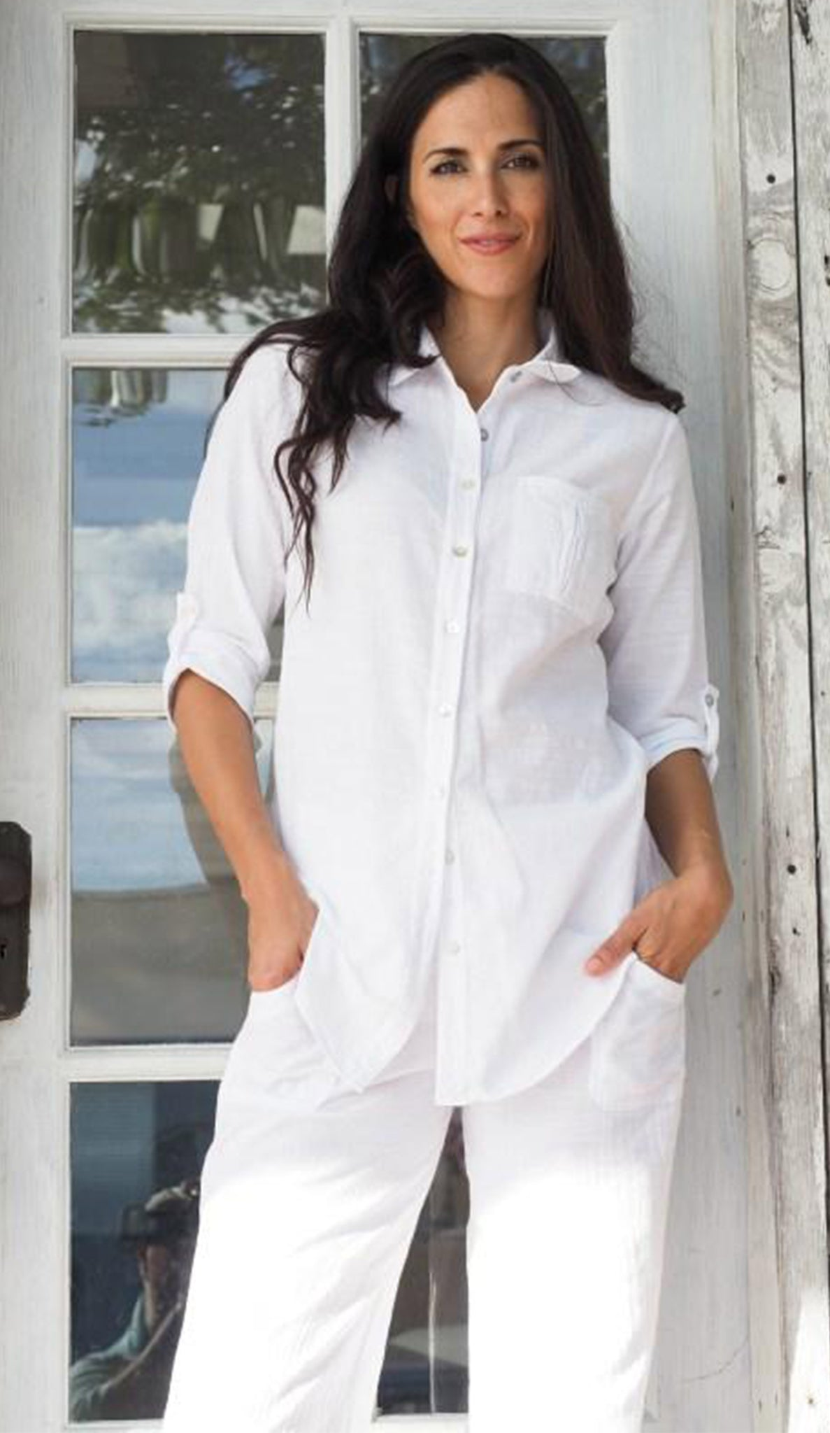 Kate Button Down