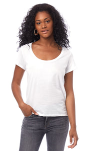 Organic Cotton Scoop T