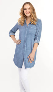 Shirt Dress - 3 Colors!