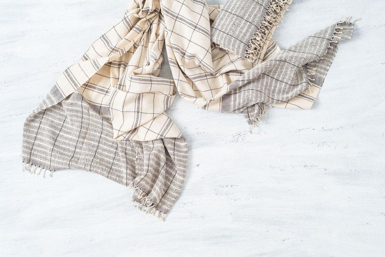 Brittany Organic Cotton Throw