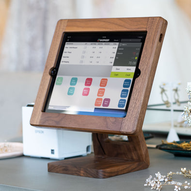What iPads work with Freeform Made Wooden iPad stands?