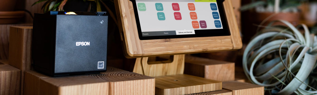 Free standing iPad stands