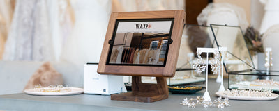Handmade Wooden iPad Stands from Freeform Made MOBILE