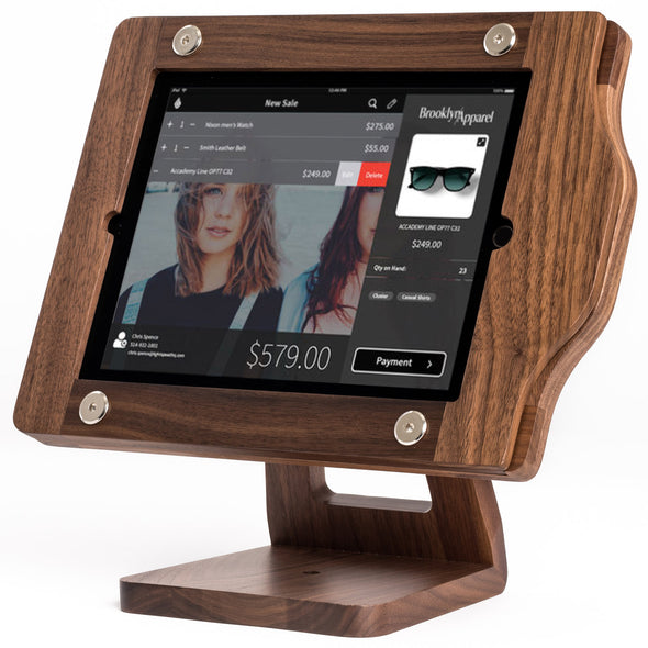 iPad Point of Sale Wood Frame