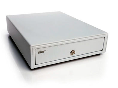 White cash drawer