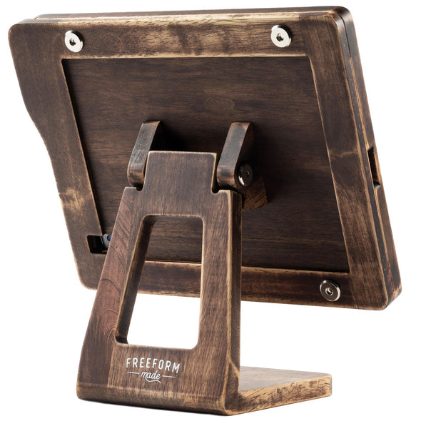 Restaurant Wooden Tablet Stand