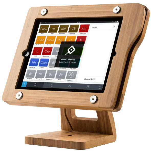 Square Wood POS iPad Frame